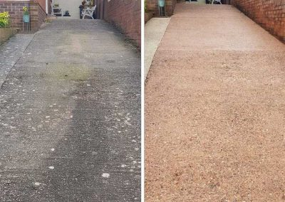 pressure-washing-driveway-clean